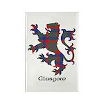 Lion - Glasgow dist. Rectangle Magnet (100 pack)