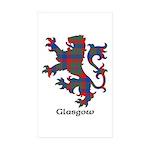 Lion - Glasgow dist. Sticker (Rectangle 50 pk)
