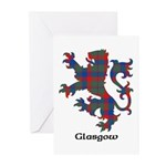 Lion - Glasgow dist. Greeting Cards (Pk of 10)