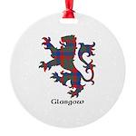 Lion - Glasgow dist. Round Ornament