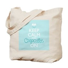 Keep Calm and Bake On Tote Bag