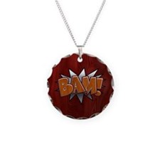 metal-bam-T Necklace
