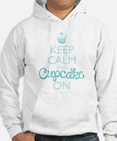 Keep Calm and Cupcake On Hoodie