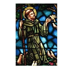 Saint Francis of Assisi Postcards (Package of 8)