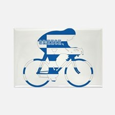 Greek Cycling Rectangle Magnet