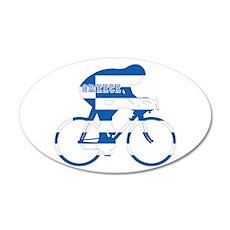 Greek Cycling Wall Decal