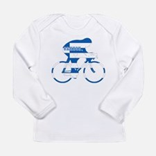 Greek Cycling Long Sleeve Infant T-Shirt