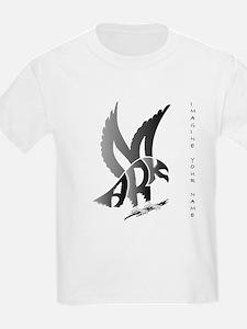 Mark brown eagle Kids T-Shirt