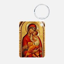 Mary The God Bearer Keychains