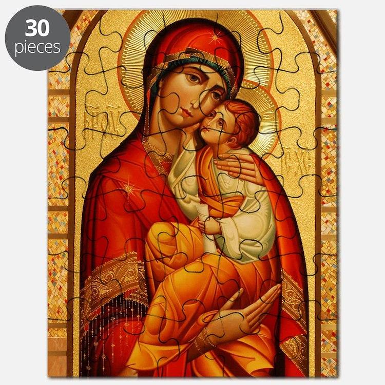Mary The God Bearer Puzzle