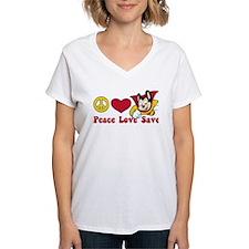 Peace Love Save Shirt