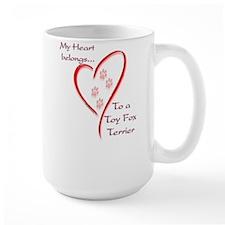 Toy Fox Heart Belongs Mug