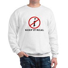 KEEP IT REAL T-SHIRT MATH SHI Sweatshirt
