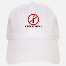 KEEP IT REAL T-SHIRT MATH SHI Baseball Baseball Cap