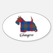 Terrier - Glasgow dist. Sticker (Oval)