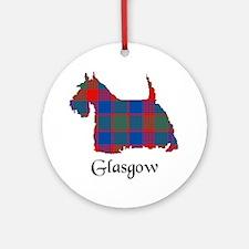 Terrier - Glasgow dist. Ornament (Round)