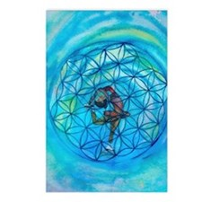 Sacred Geometry on Ice Postcards (Package of 8)