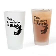 Yes, I Drive Stick Drinking Glass