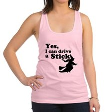 Yes, I Drive Stick Racerback Tank Top