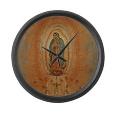 Lady of Guadalupe Large Wall Clock