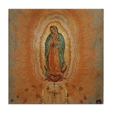 Lady of Guadalupe Tile Coaster