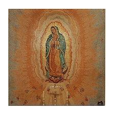 Lady of Guadalupe Tile Coaster
