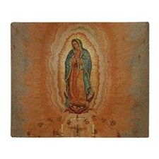 Lady of Guadalupe Throw Blanket