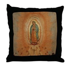 Lady of Guadalupe Throw Pillow