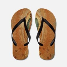 Lady of Guadalupe Flip Flops