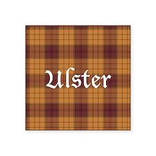"""Tartan - Ulster dist. Square Sticker 3"""" x 3"""""""