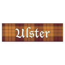 Tartan - Ulster dist. Bumper Sticker