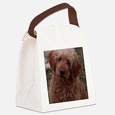 Golden Doodle Canvas Lunch Bag