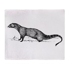 Mongoose Throw Blanket