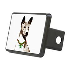 Basenji Holiday by madeline wilson Hitch Cover