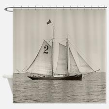 Sailboat, 1905 Shower Curtain