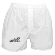 Black Snake Boxer Shorts