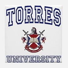 TORRES University Tile Coaster