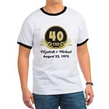 Personalized anniversary Ringer T