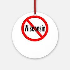 Wisconsin.jpg Ornament (Round)