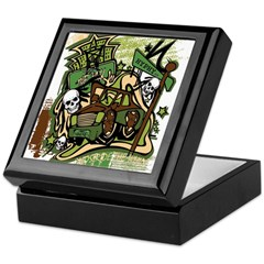 (HYPHY) GHOST RIDE THE WHIP Keepsake Box