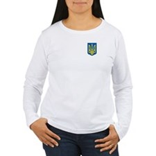 Women's Tryzub Long Sleeve T-Shirt