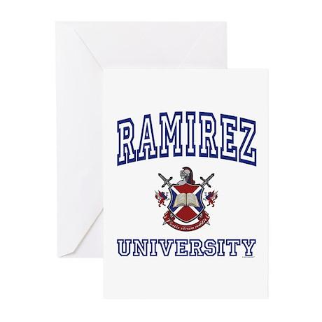 RAMIREZ University Greeting Cards (Pk of 10)