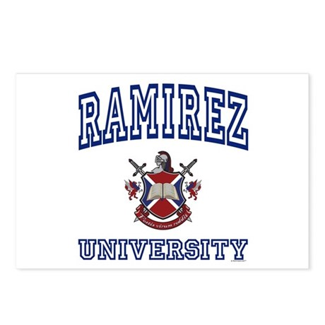 RAMIREZ University Postcards (Package of 8)