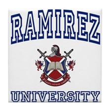 RAMIREZ University Tile Coaster