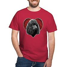 Poodle Valentine T-Shirt