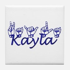 Kayla Tile Coaster