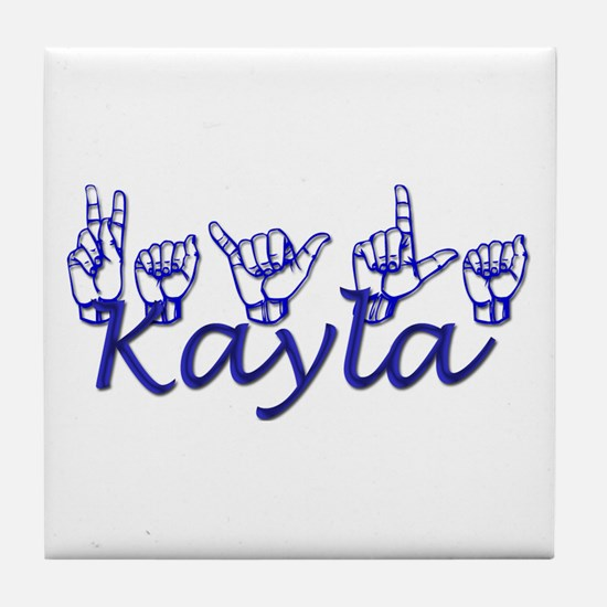 Kayla Tile Coaster