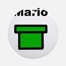 MArio Ornament (Round)
