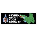 CROCODILE TEARS Bumper Sticker