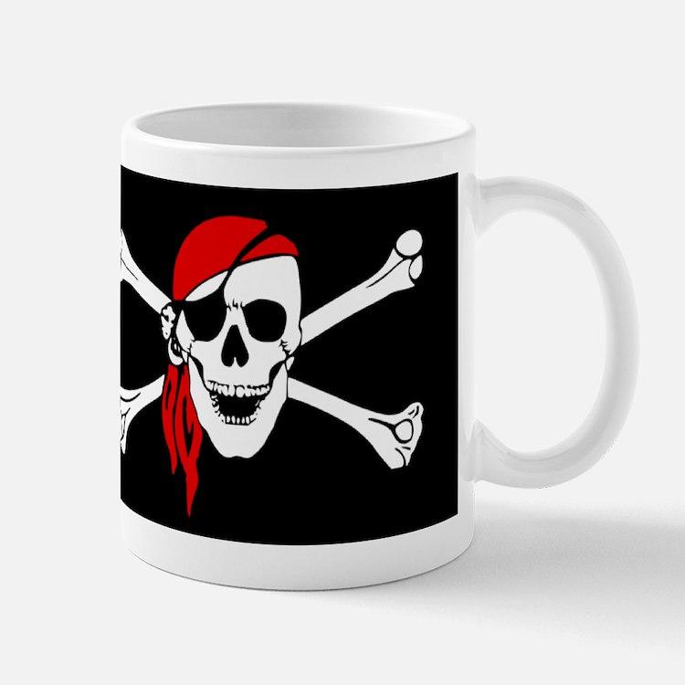 Pirate flag Mugs
